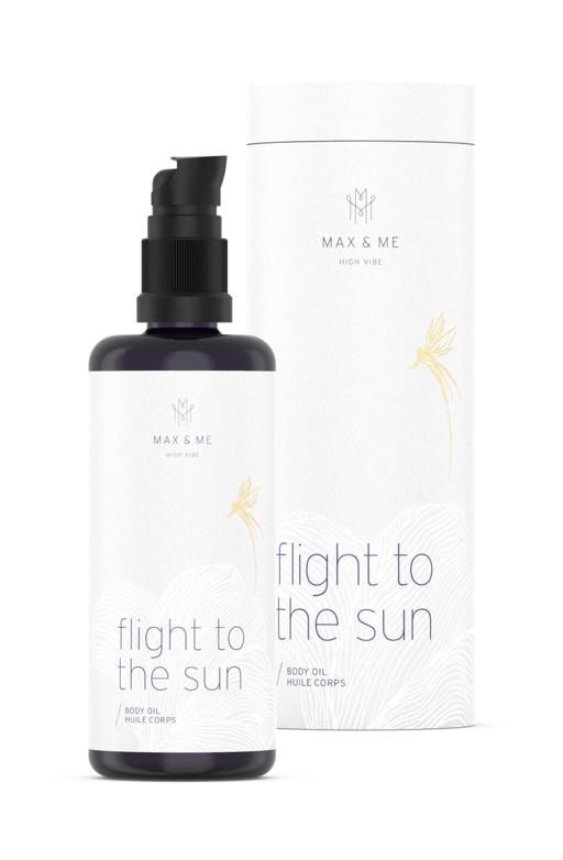 Max and Me Bodyoil Flight to the Sun