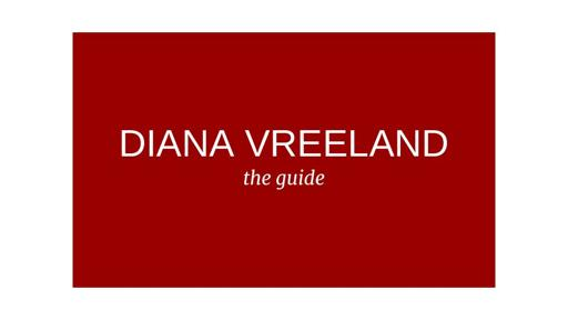 Diana Vreeland Parfums Markenbeschreibung